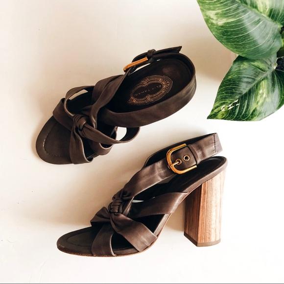 Elie Tahari Shoes - ELIE TAHARI • natasha knot block heels